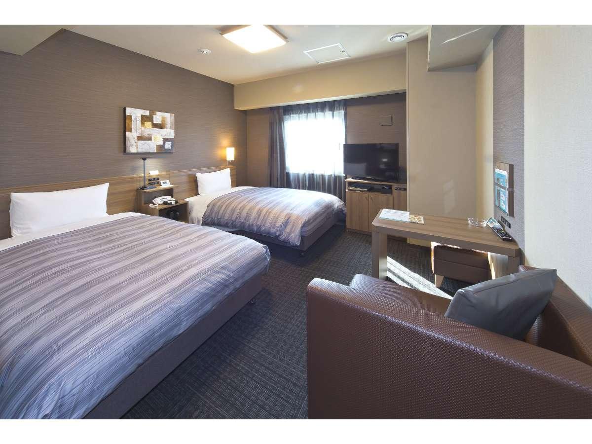 スタンダードツインルームベッドサイズ110×195(cm) 19平米