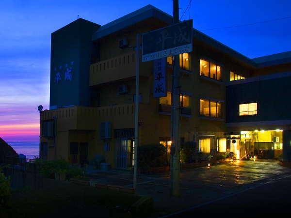 日本海沿いに佇む『絶景夕陽の宿』みなさまのお越しをお待ちしております