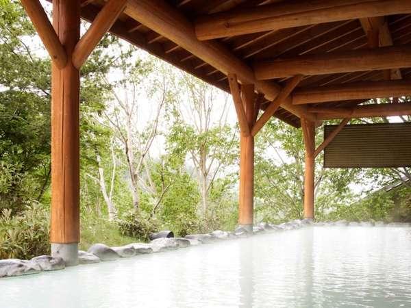 女性専用屋根付露天風呂「しゃくなげの湯」