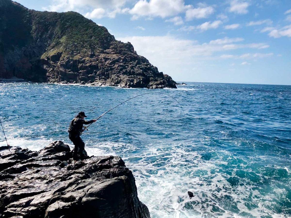 *【磯釣り】釣り人の楽園「五島の海」で釣りを満喫♪穴場スポットなど当館大将にお気軽にご相談ください!