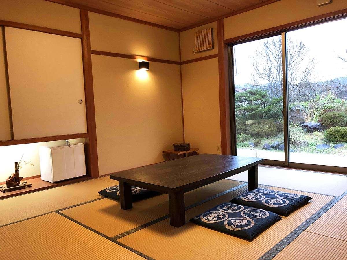 ・【客室一例】8畳の広々とした和室