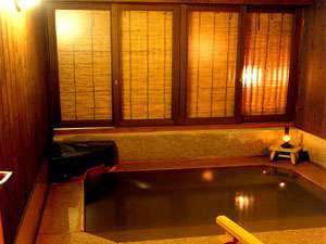 貸切風呂「幸鶴の湯」でごゆるりと…
