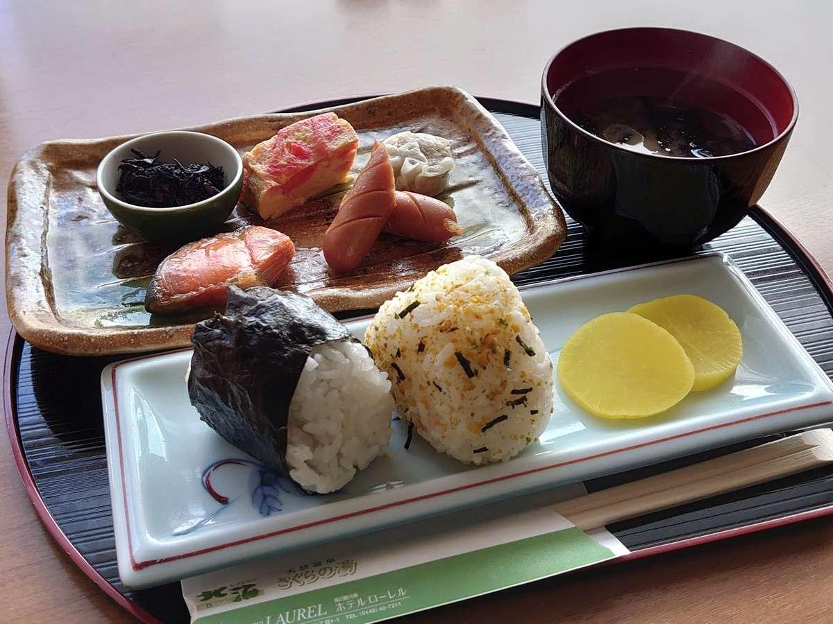 ◆おにぎり朝食