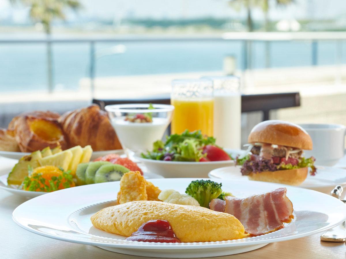 ◇最高の朝食で、一日のスタートを品数豊富なホテル自慢の朝食ブッフェをお楽しみください。