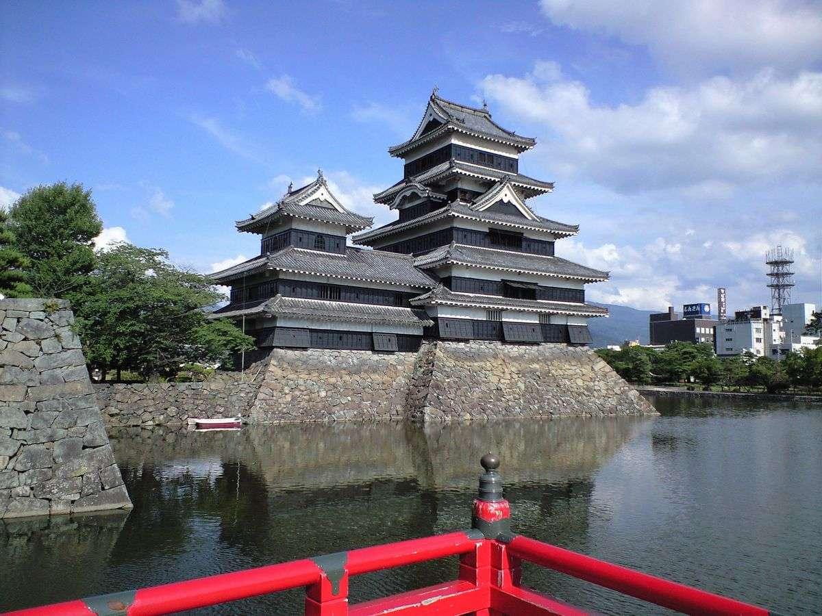 ■松本城(桜)(写真提供:長野県観光機構)