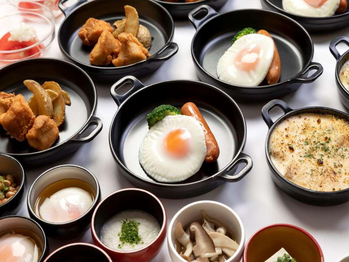 味めぐり小鉢横丁【1Fレストラン朝食◆6:30~9:30(LO9:00)87席】