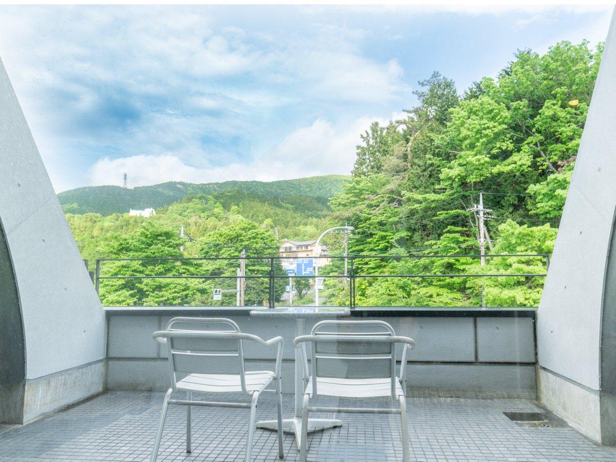 ◆洋室スタンダードツイン25平米(バルコニー)