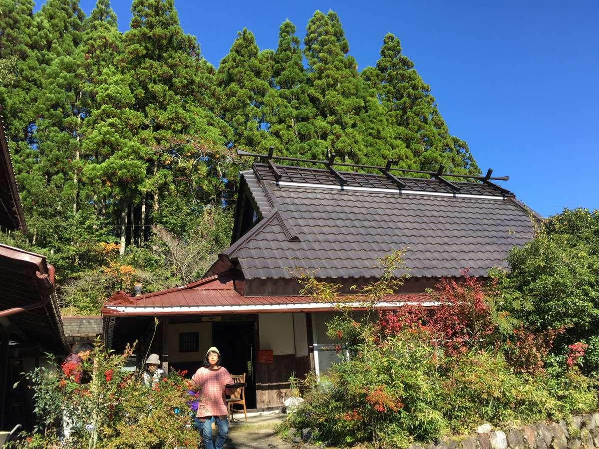 京都北山型古民家の母屋