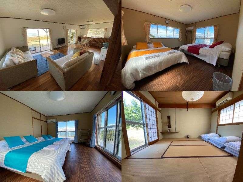 リビング、和室、寝室