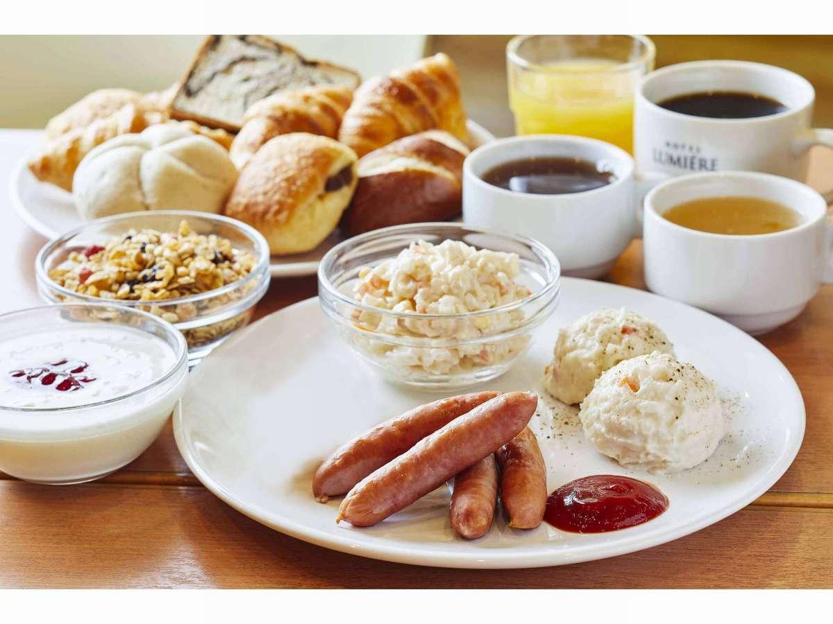 無料朝食6:30~10:00