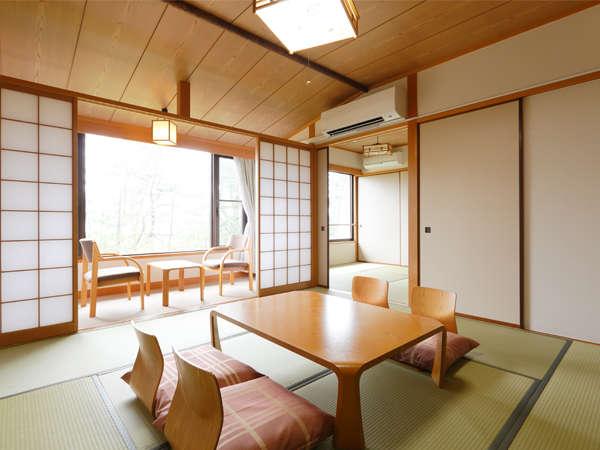 和室バス付♪8畳+4.5畳の2間で広々空間♪