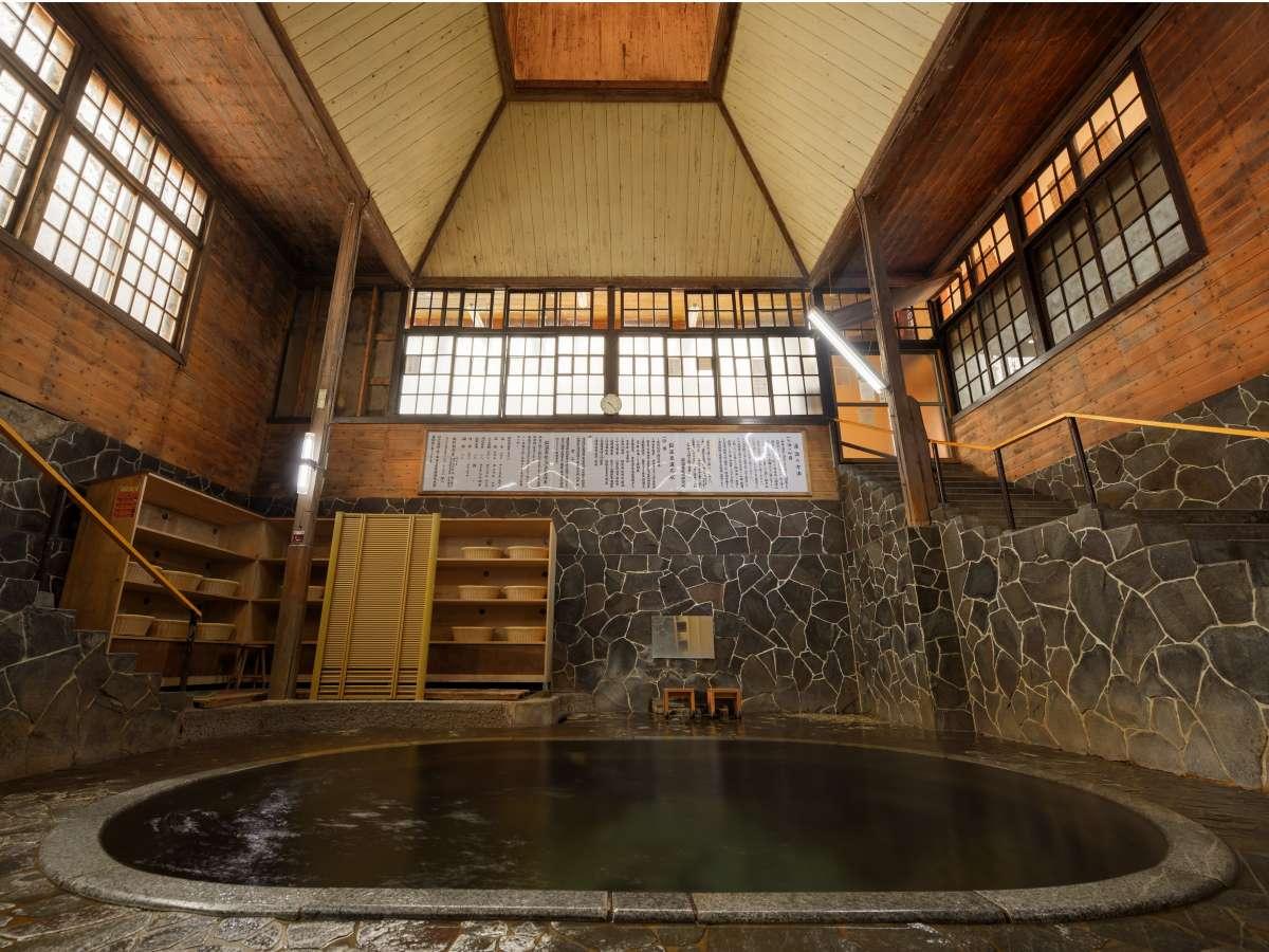 日本一深い天然自噴岩風呂、【白猿の湯】広がる空間と湯の力を是非体感下さい