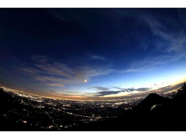 筑波山頂からの夜景