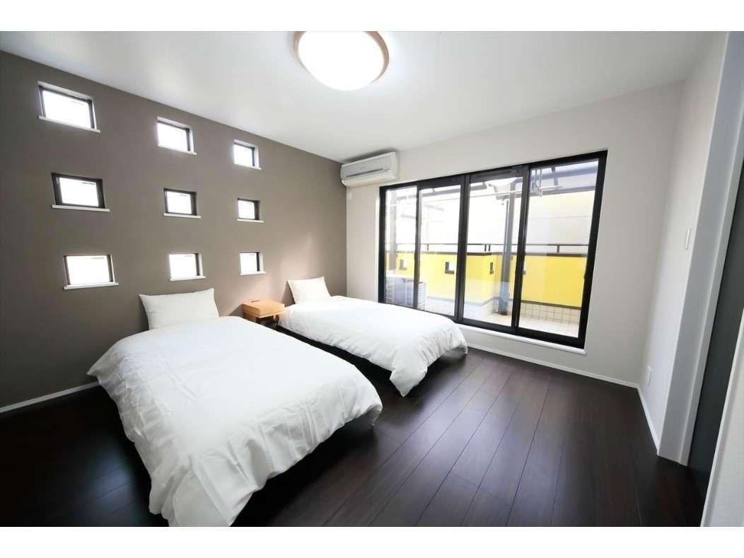 寝室② 寝室は全部で3部屋です(すべてツイン)