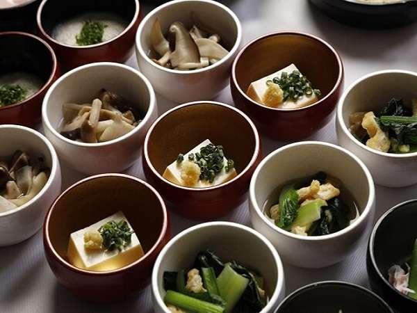 ■冷製小鉢(イメージ)【1Fレストラン朝食◆6:30~9:30(LO9:00)】
