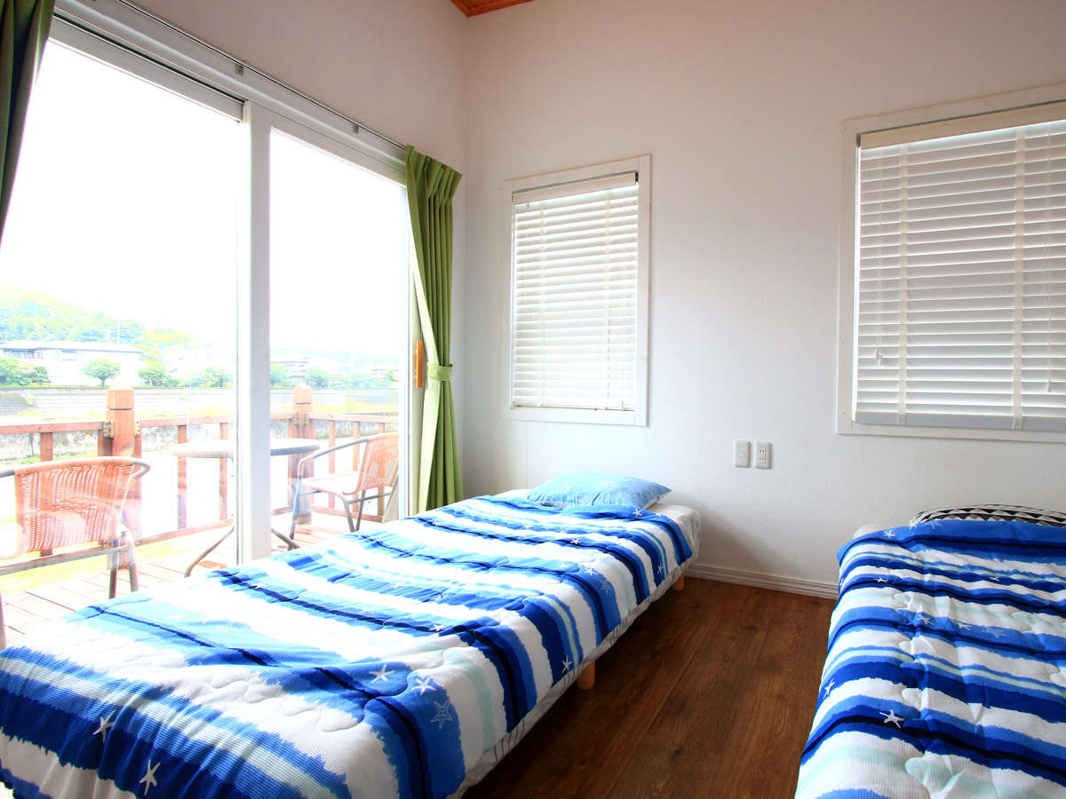 【201寝室】テラスもついています