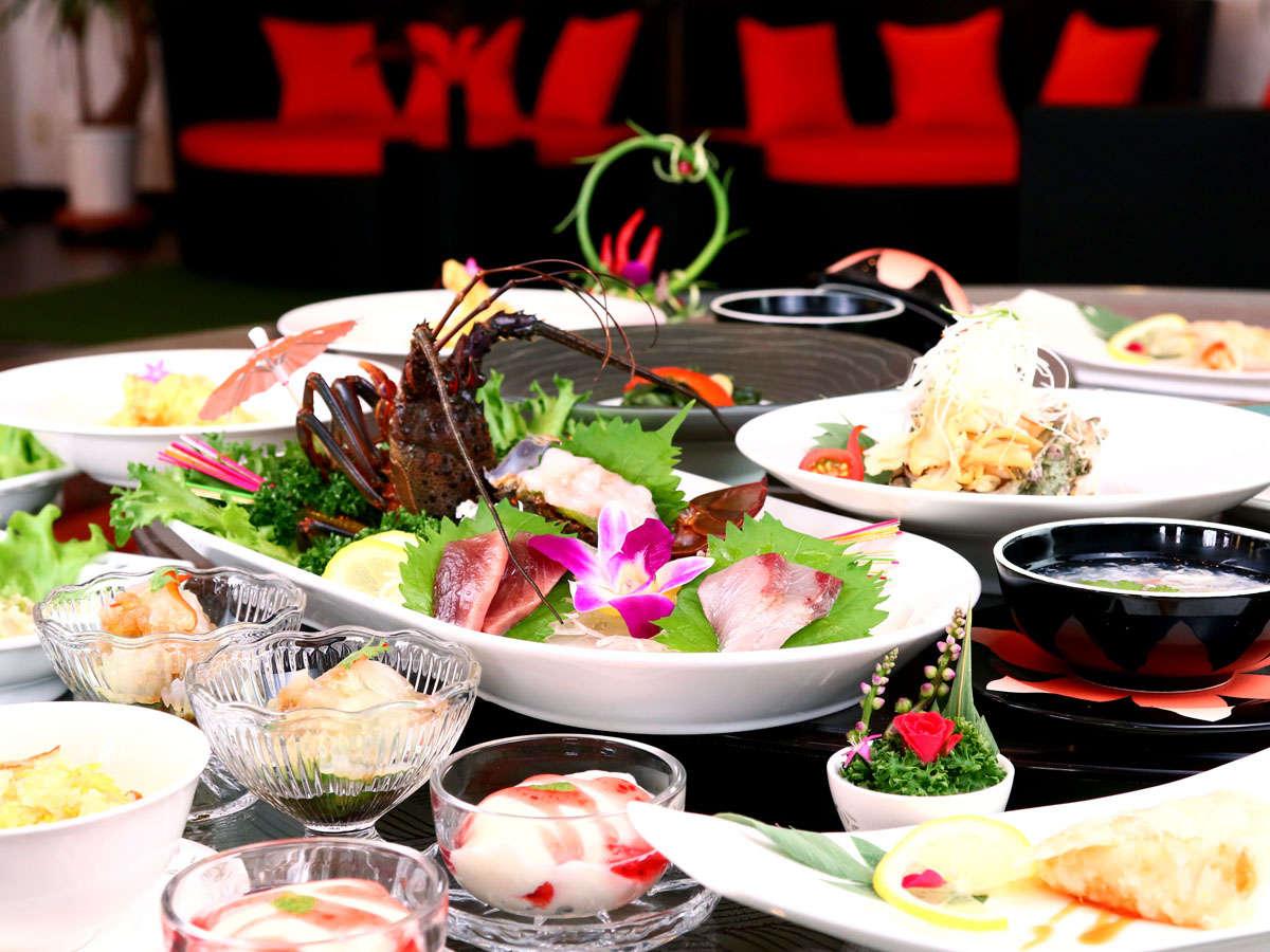 【-スタンダードコース-】本格中華料理をベースに伊勢志摩の新鮮食材を用いた創作料理。
