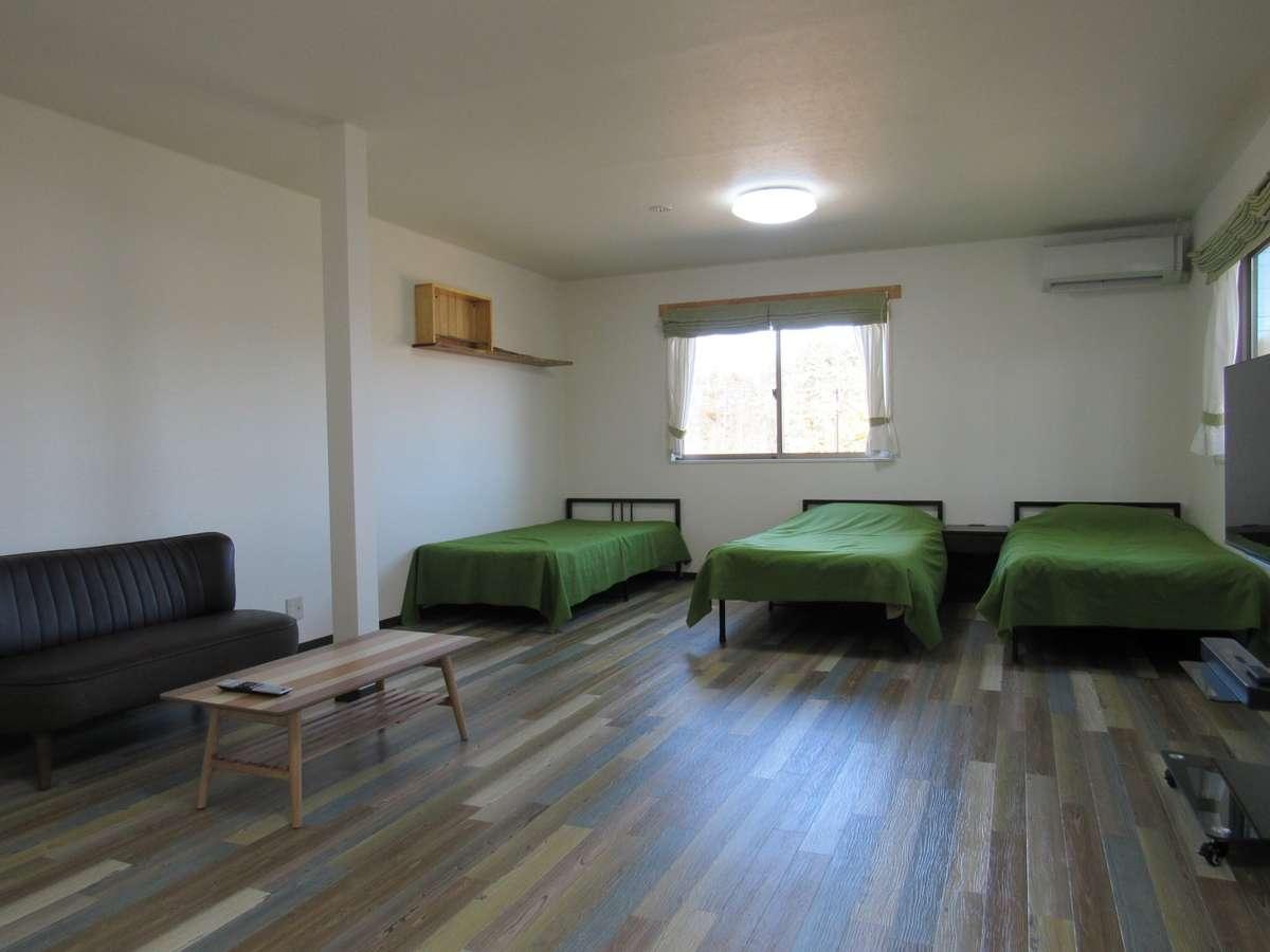 客室206一番広いお部屋