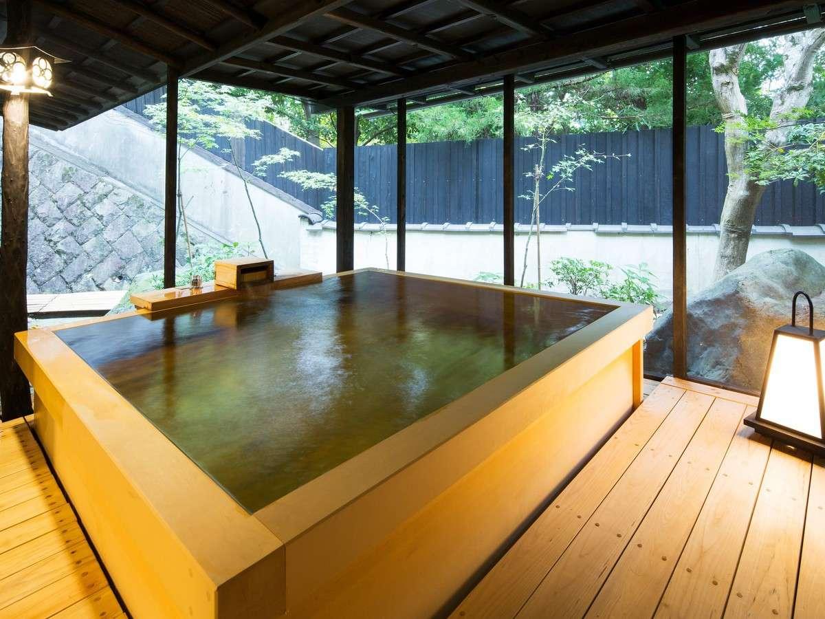 【1階2間 檜風呂】温泉露天付スイートルーム