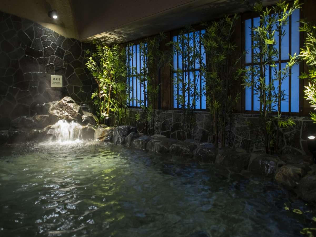 【女性】外気浴岩風呂(約43℃)