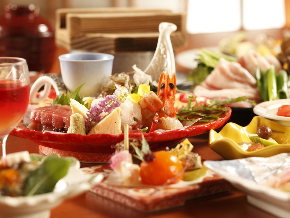 【夕食】お部屋食プラン『和食会席』イメージ