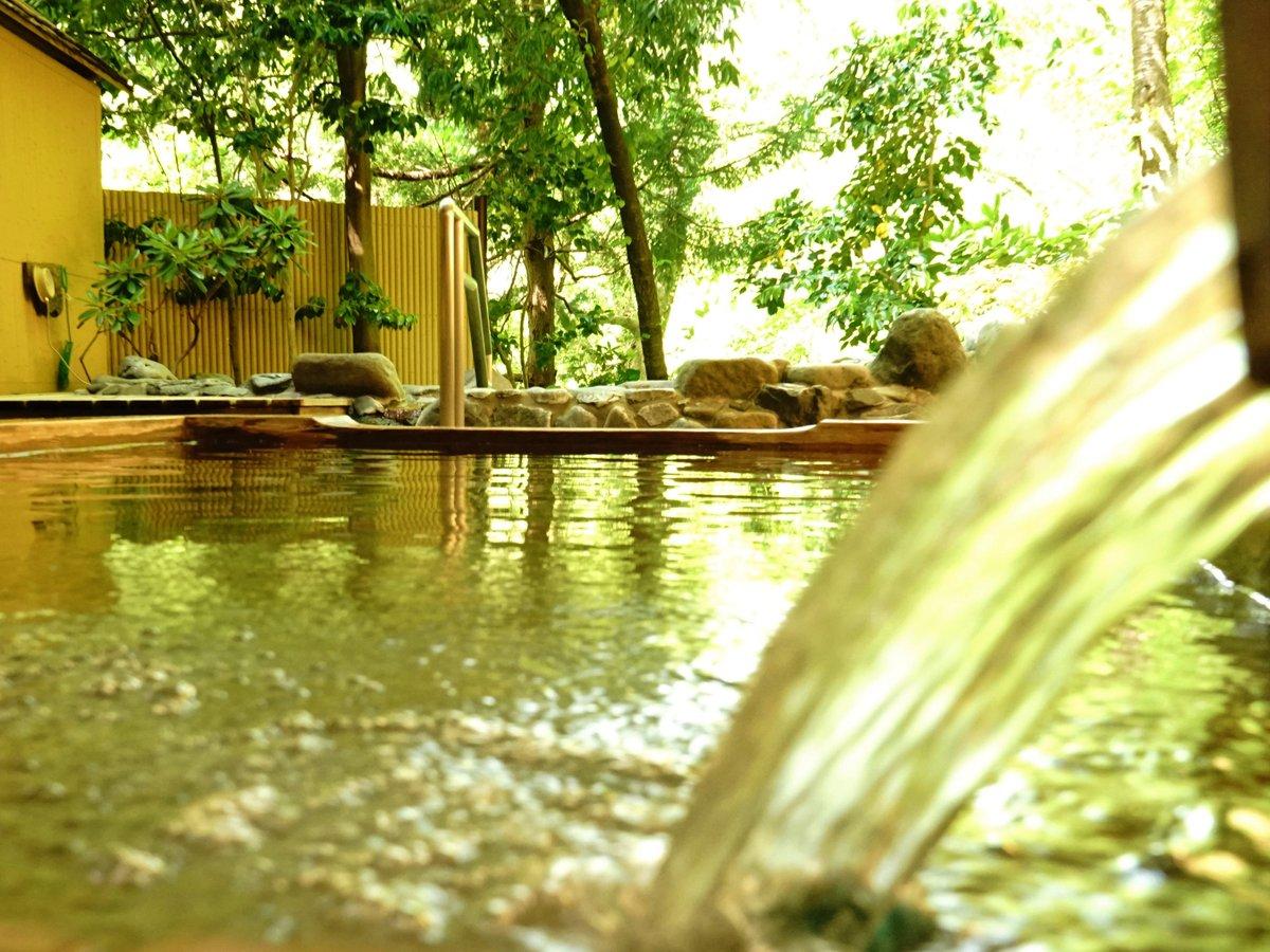 【にの湯】露天風呂