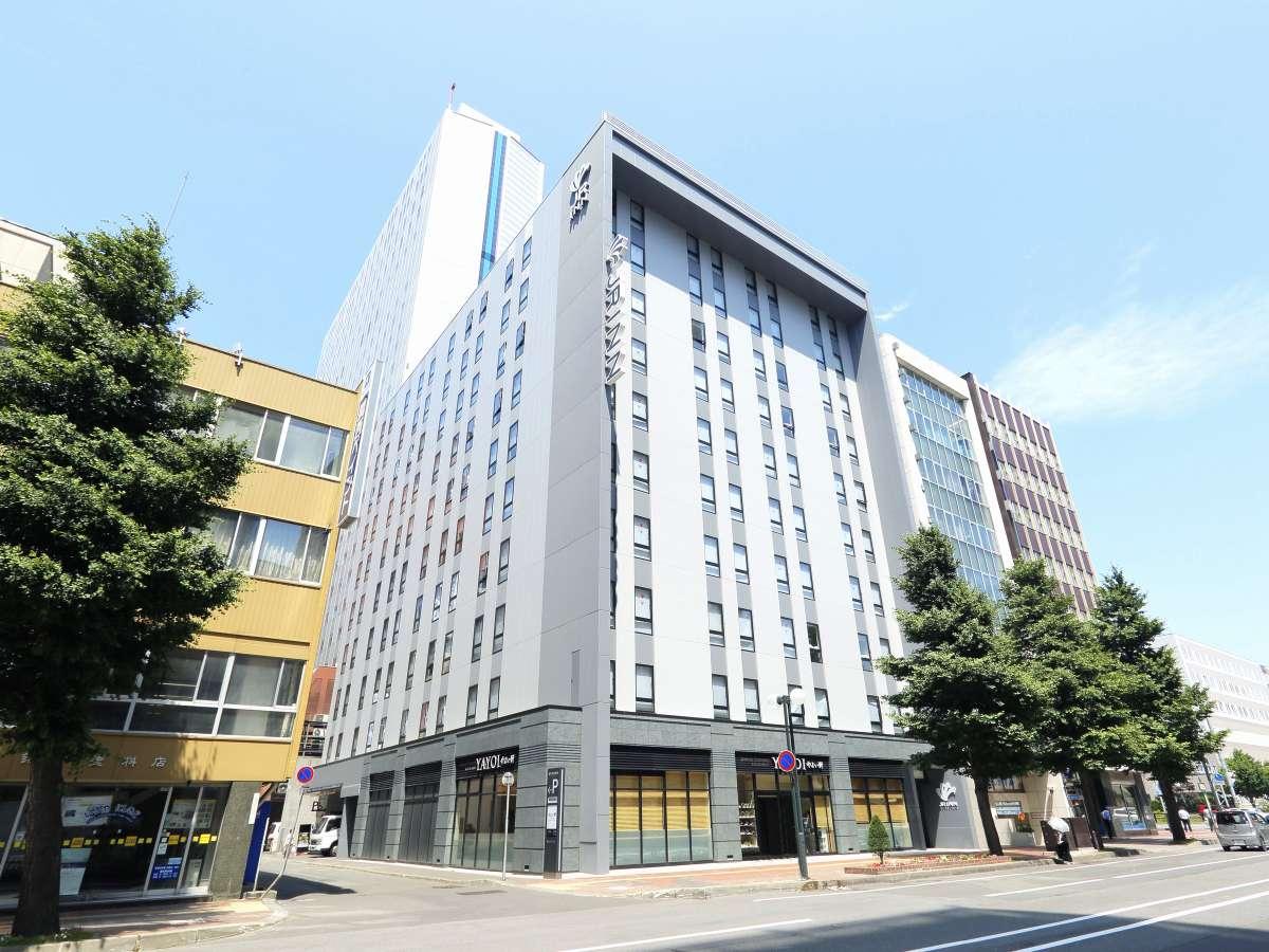 JR&地下鉄札幌駅・地下鉄大通駅ともに徒歩7分のダブルアクセス
