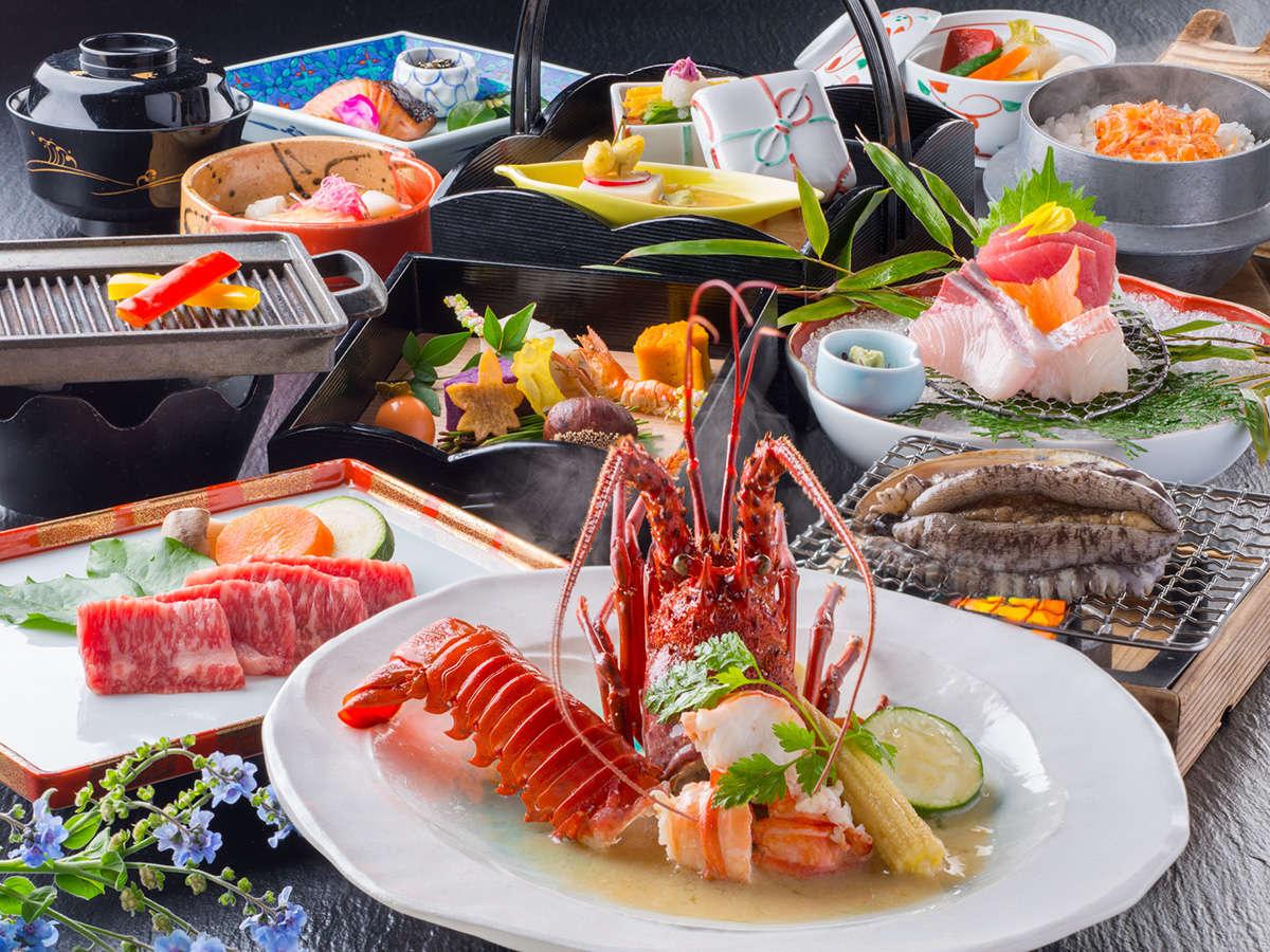 「季節のものを」「地の食材」で。鮮度にこだわり、厳選した「伊勢志摩、旬の味覚」をご堪能ください。