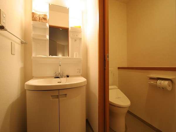 バスとトイレが独立した造りでとっても使いやすい