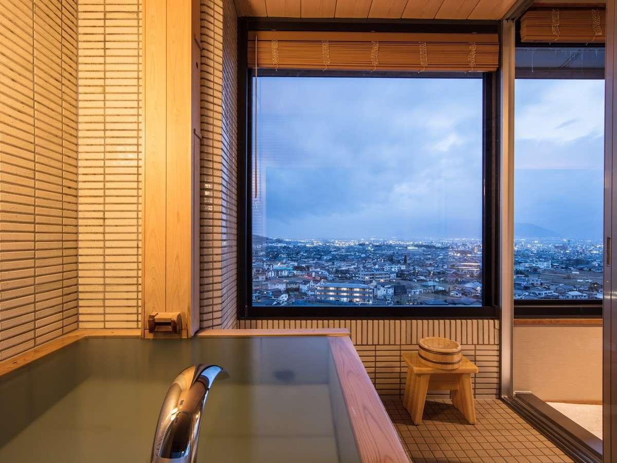 【西の館・温泉展望風呂付和室(55㎡)】