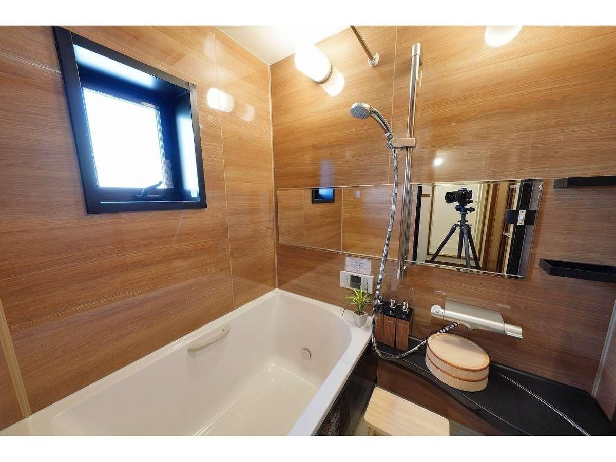 客室一例 バスルーム