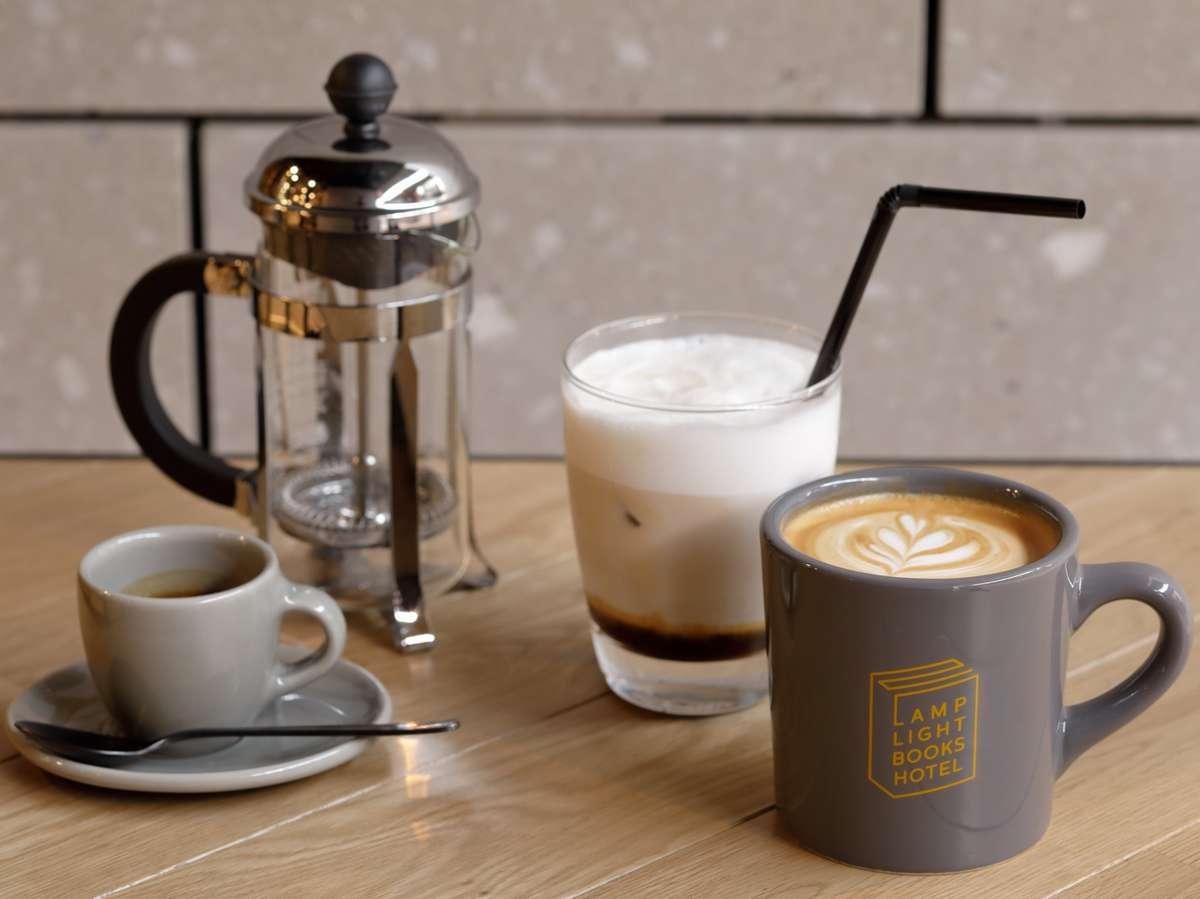 【ランプライトブックスカフェ】 「MORIHICO.」の焙煎コーヒー等