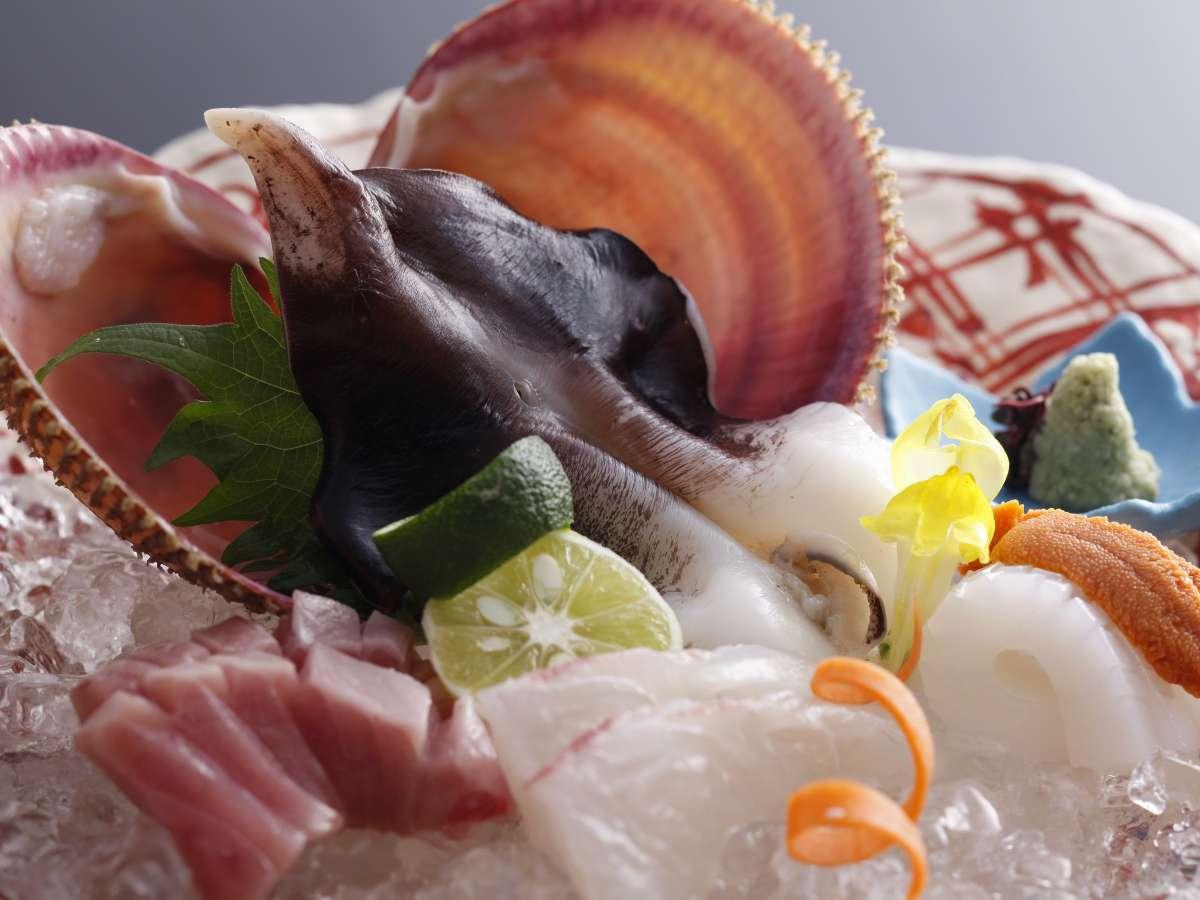 【夏】丹後とり貝はお造りがオススメ