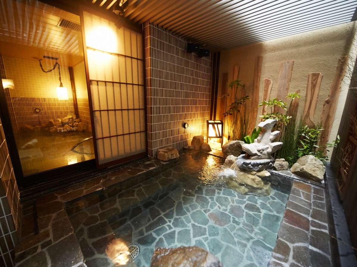 ■男性大浴場(外湯)湯温41~42℃