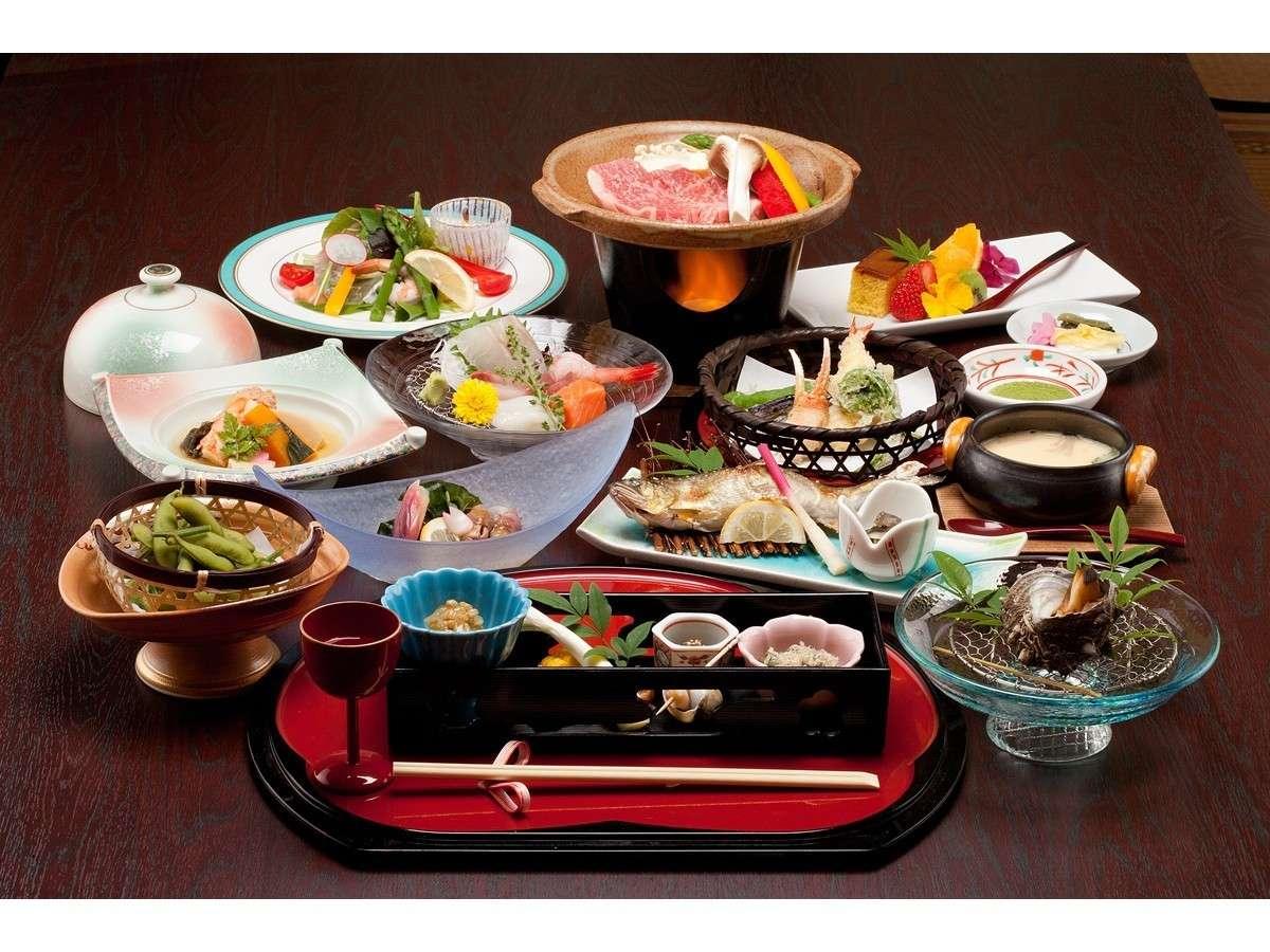 【ご宿泊プラン料理 11品】※季節によってお料理の内容がかわります。
