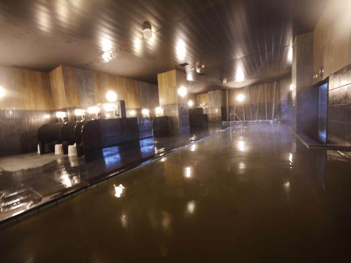 リニューアルした天然温泉大浴場です♪