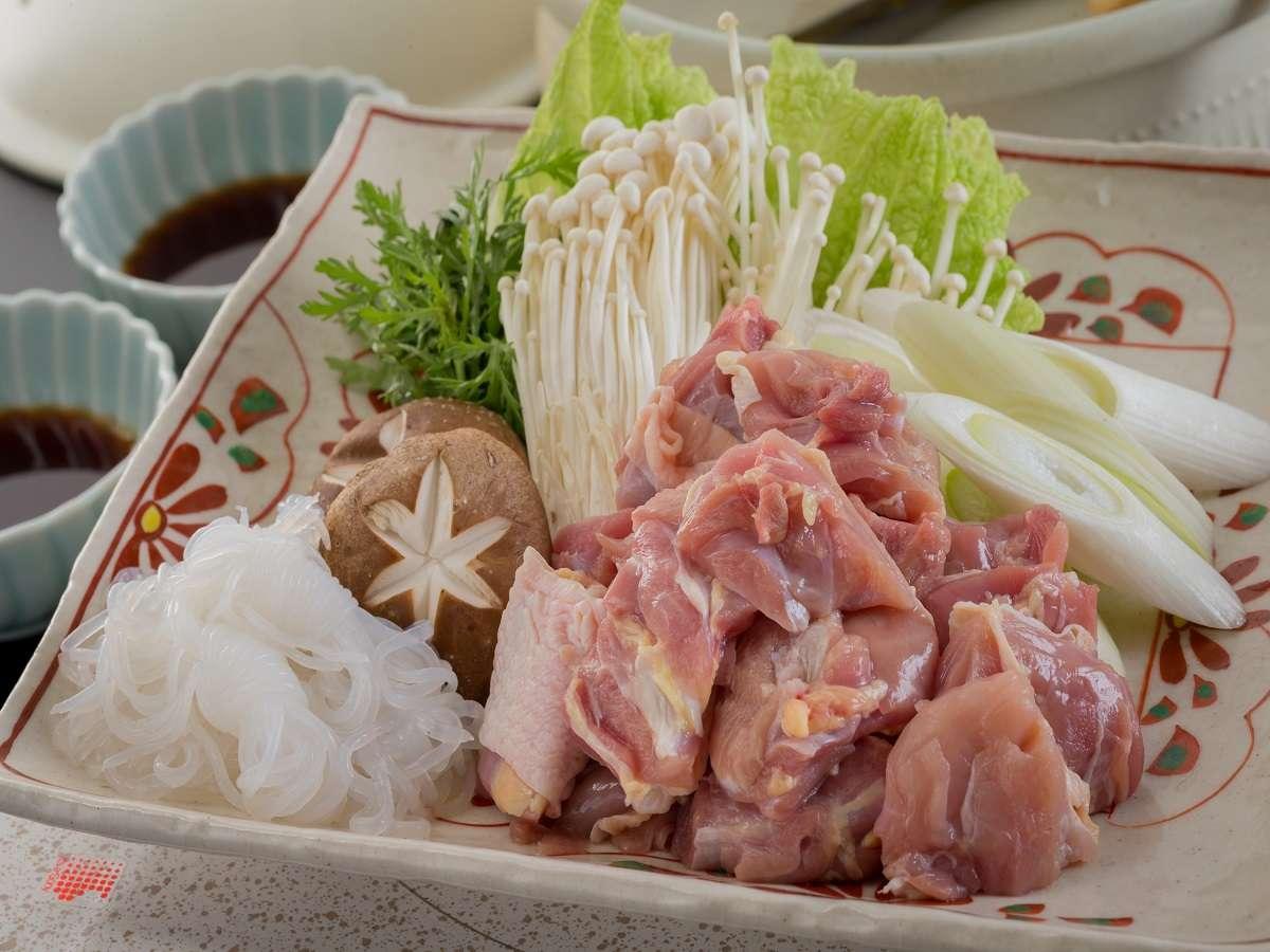 会津地鶏の水炊き鍋