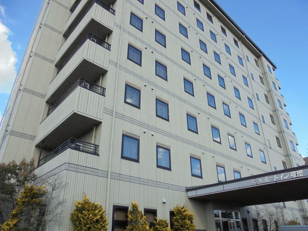 ルートイン可児 133室 8階建です☆