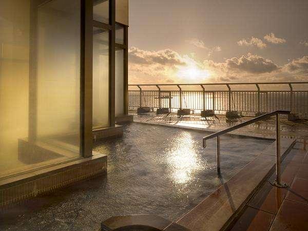 女性大浴場「眺涛の湯 露天風呂」