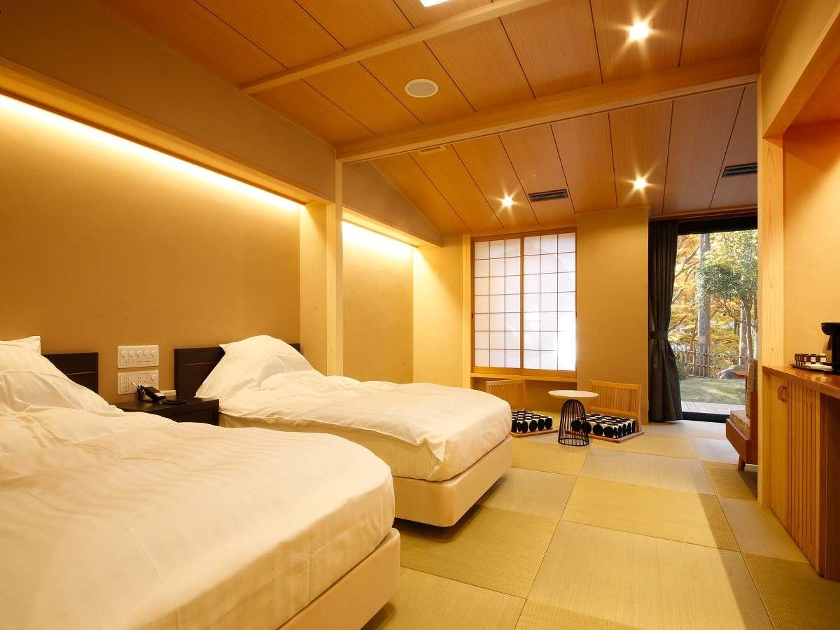 【つづみ桜】温泉付き客室