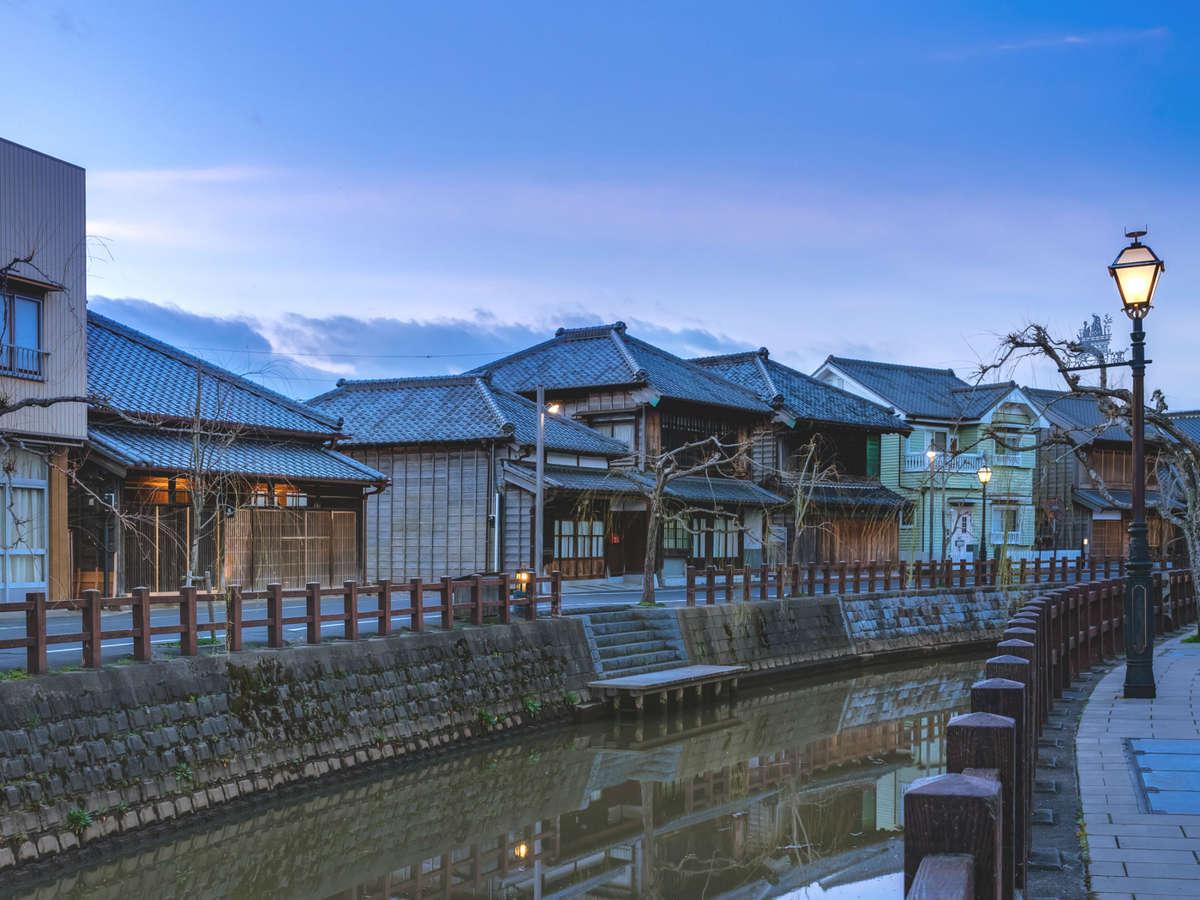 成田空港から最も近い重伝建であり、江戸の町並みが残る佐原。