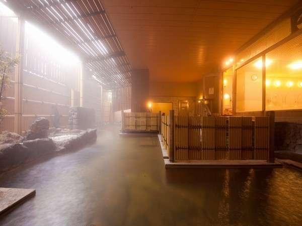 女性大浴場露天風呂 100%源泉掛け流し ナトリウム塩化物泉