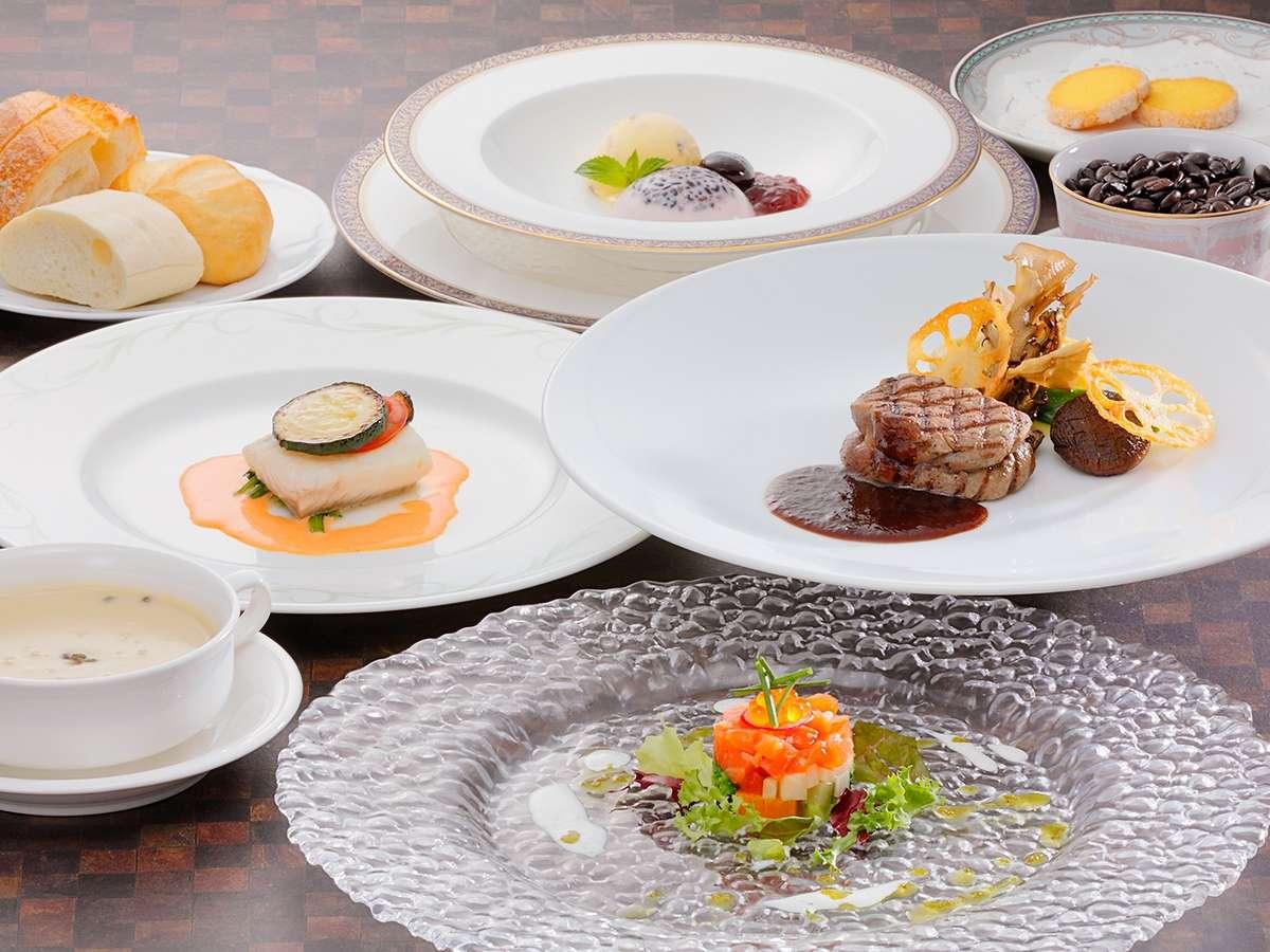 【フレンチフルコース】「エートル」フレンチと東北の食材のマリアージュをテーマに… ※イメージ