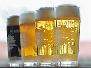 オールインクルーシブで愉しむクラフト地ビールはオリジナルビアグラスで