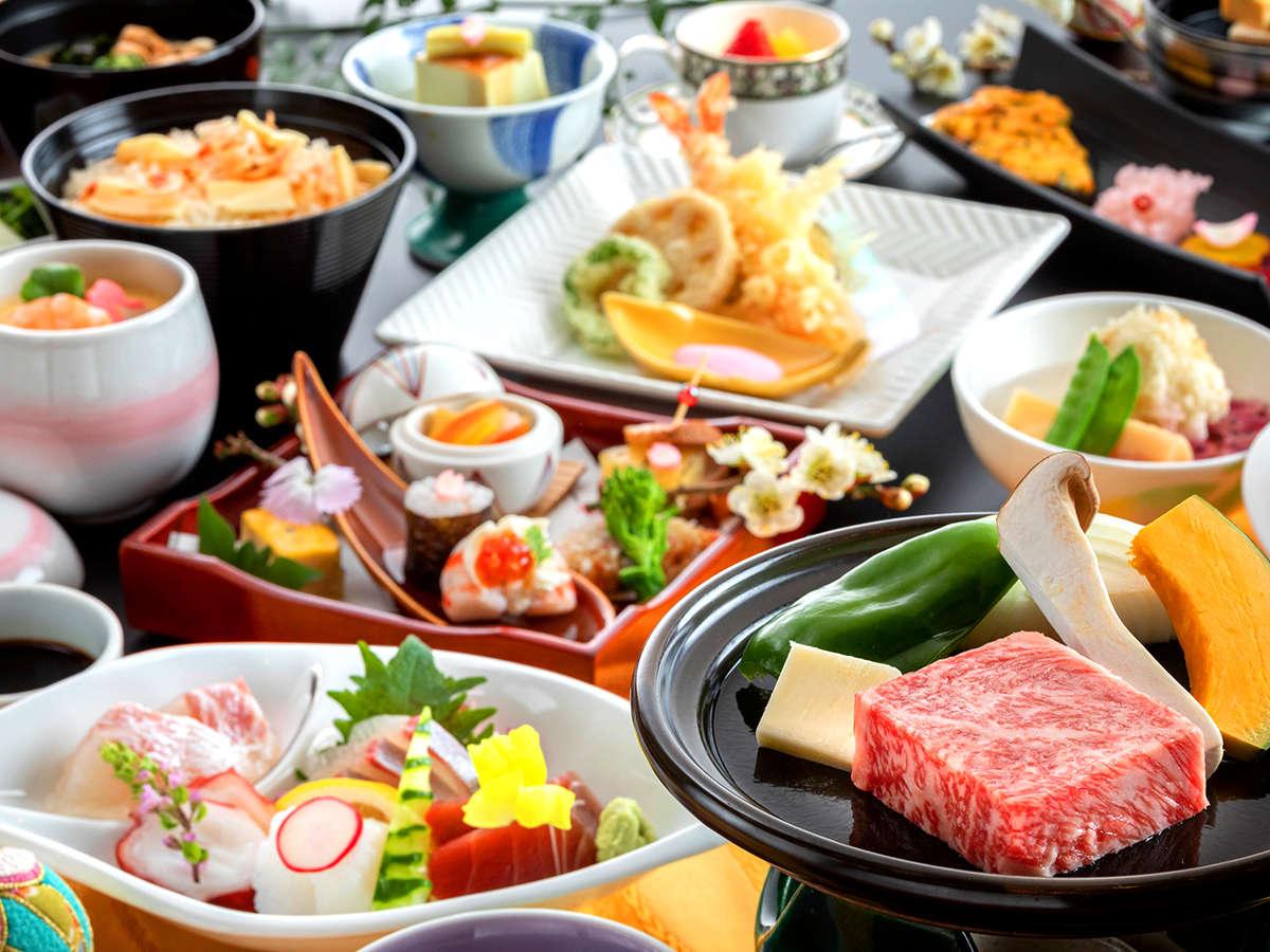 佐賀に来たら外せない【佐賀牛】地産地消にこだわった「旬の美味」とともにお召し上がりください♪