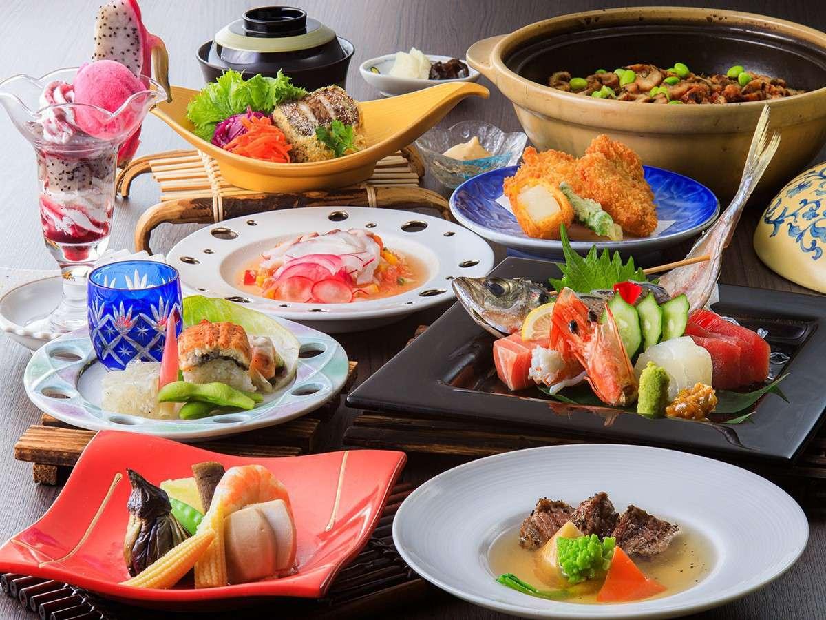和食会席お料理イメージ(7~9月)