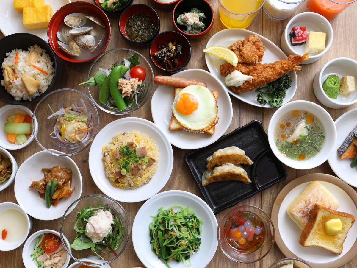 【朝食】◆ブッフェ一例◆