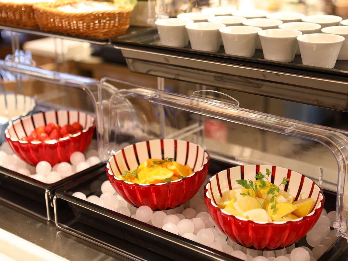 【朝食】◆季節のフルーツ◆