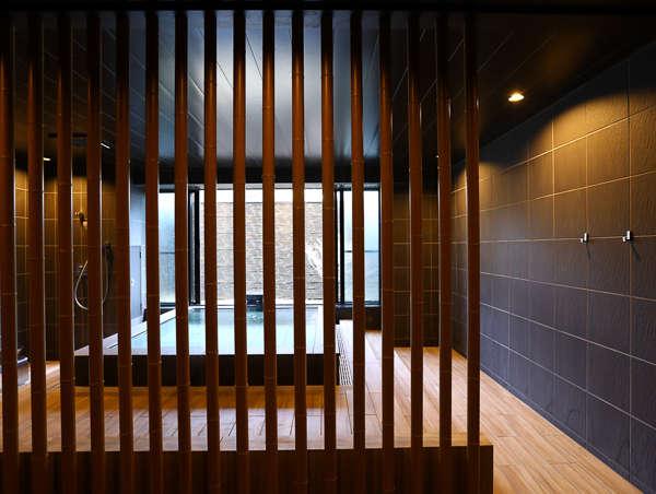 【貸切風呂たけのゆ】竹林の秘湯をイメージした大人の和モダン貸切風呂