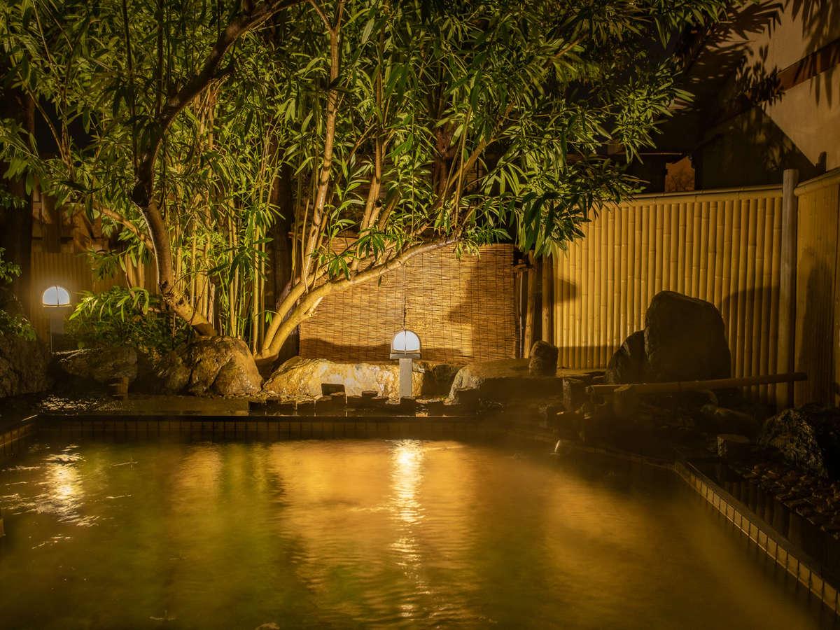 三の湯「庭園露天風呂」